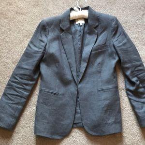 Grey linen Joie blazer